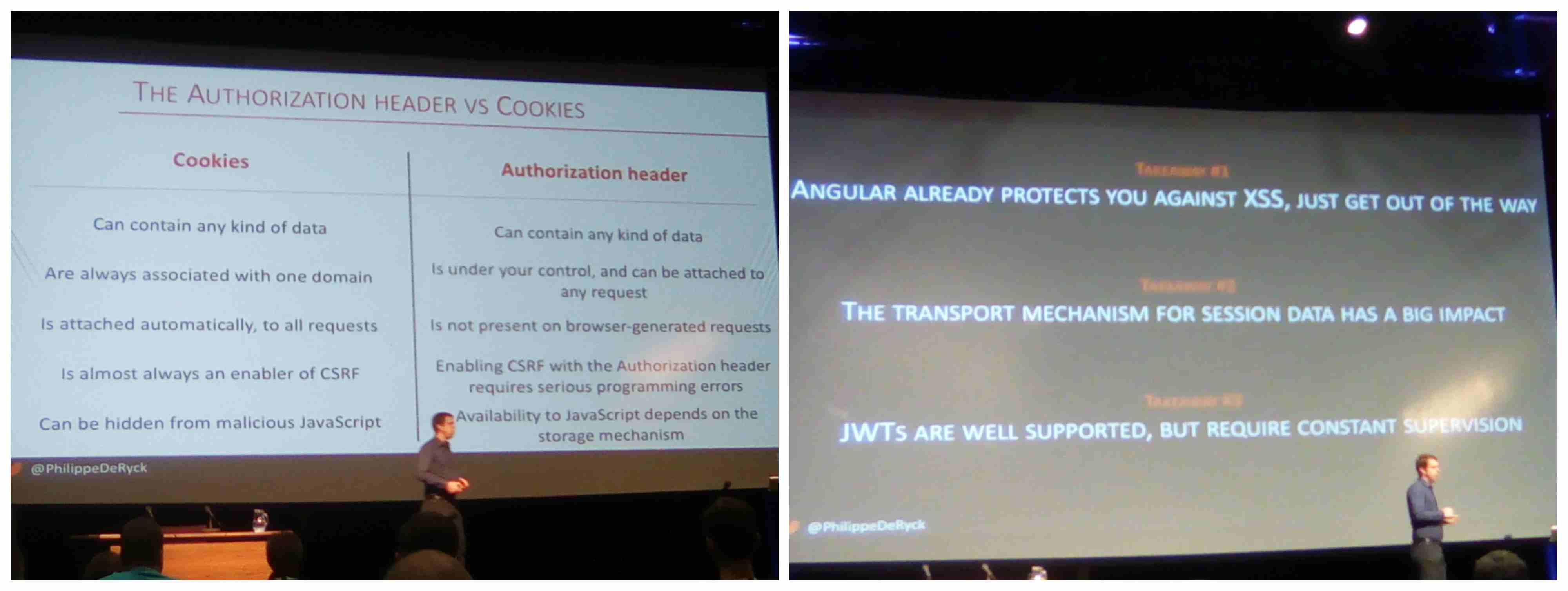 Boost your angular security
