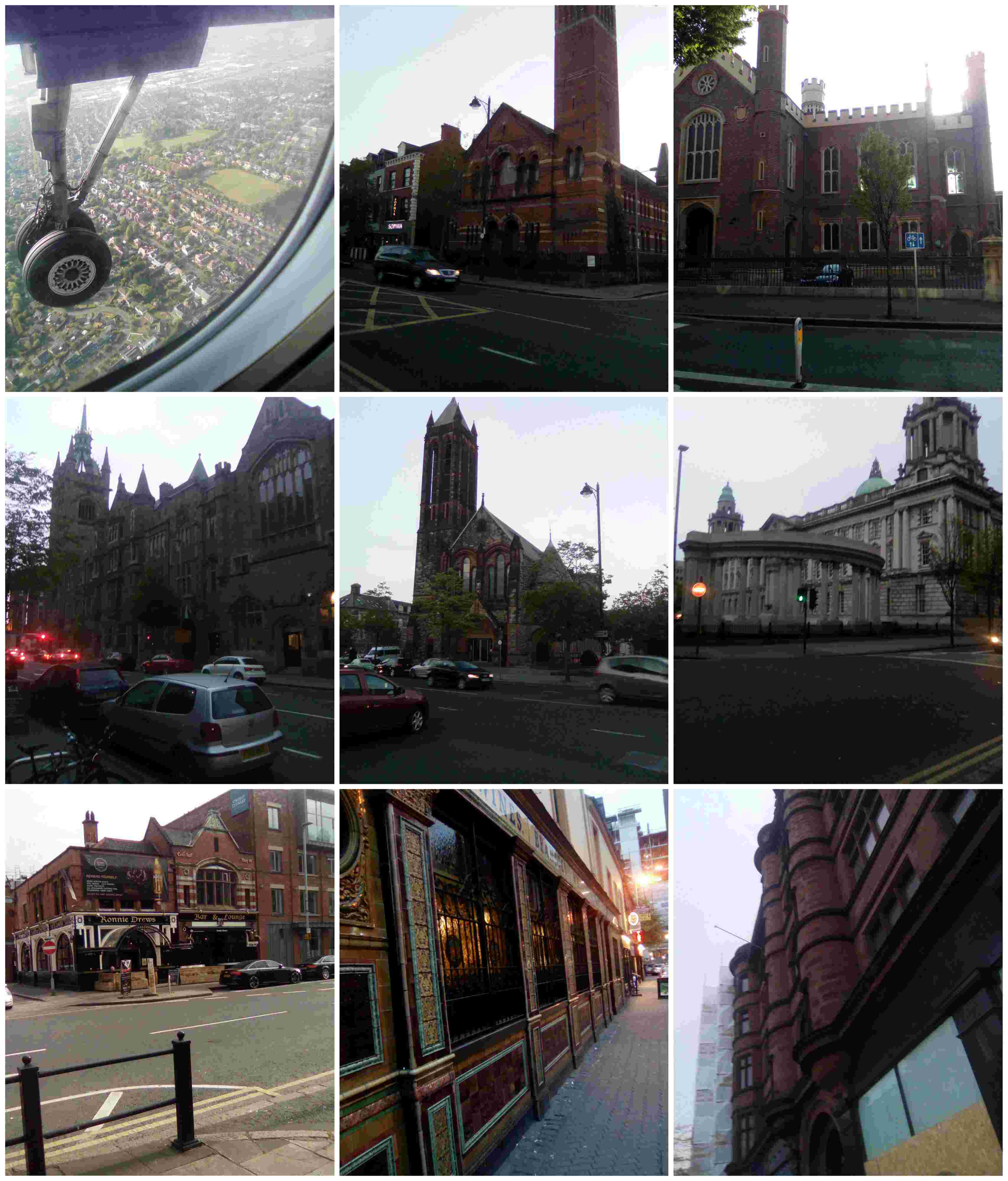 Belfast churches and pubs